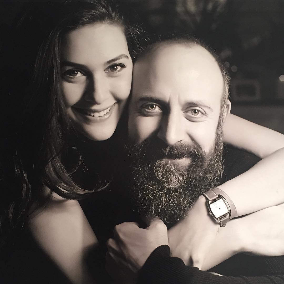 актер Халит Эргенч и его жена