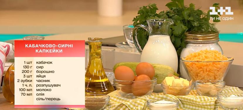 рецепт приготування мафінів з кабачка