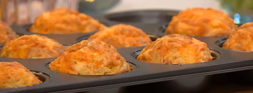 як приготовити овочеві капкейки з кабачку