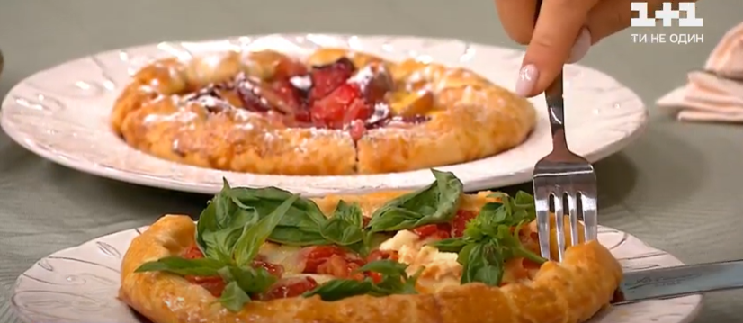як приготувати відкритий пиріг з начинкою
