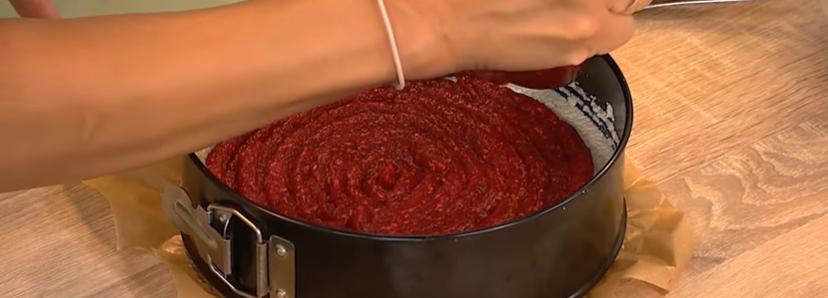 приготування пирога з малини