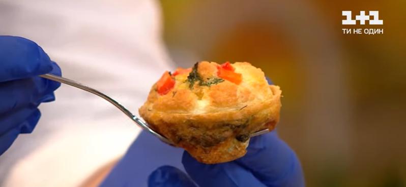 как приготовить мафины из яиц и овощей