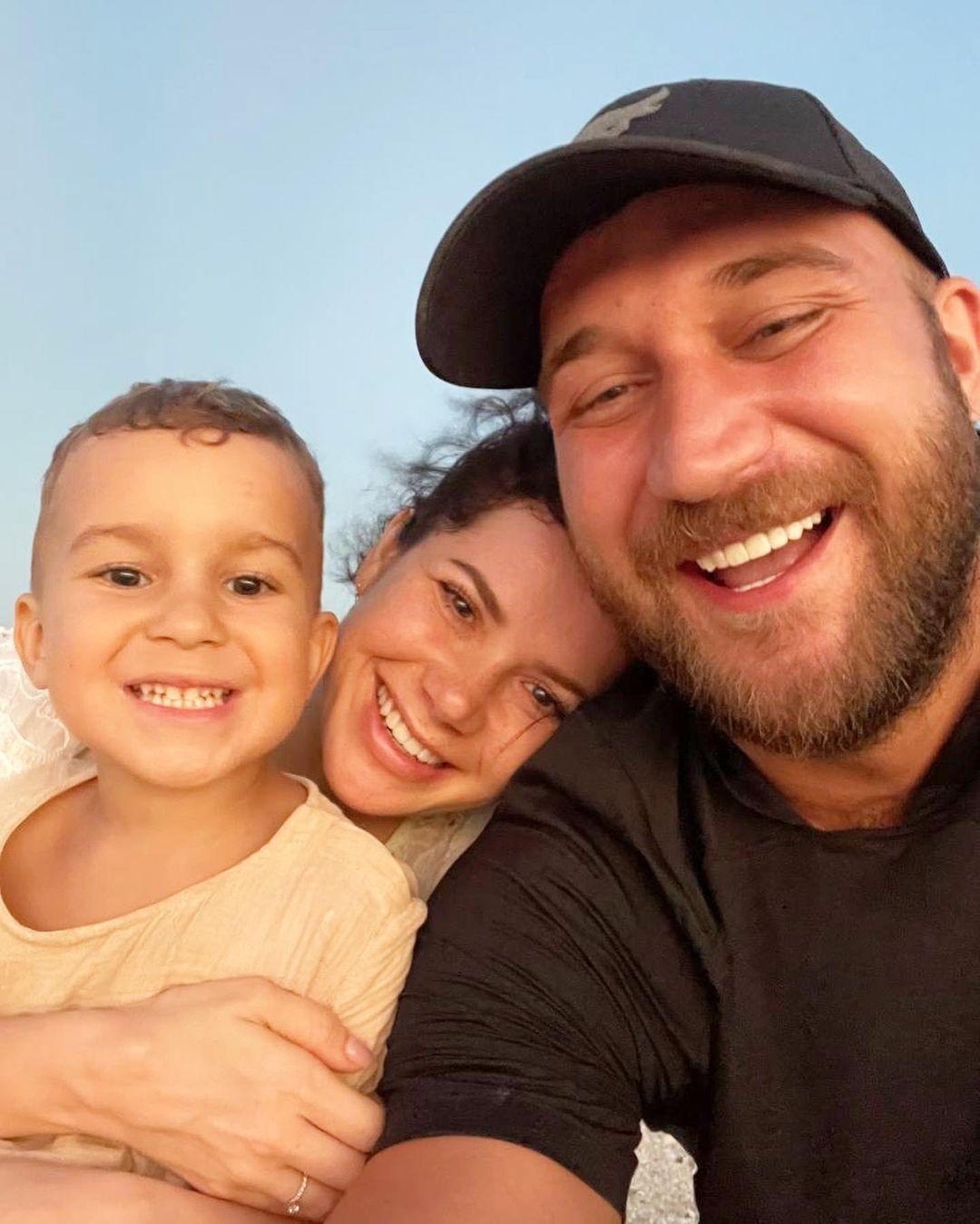 Руслан Ханумак со своей семьей