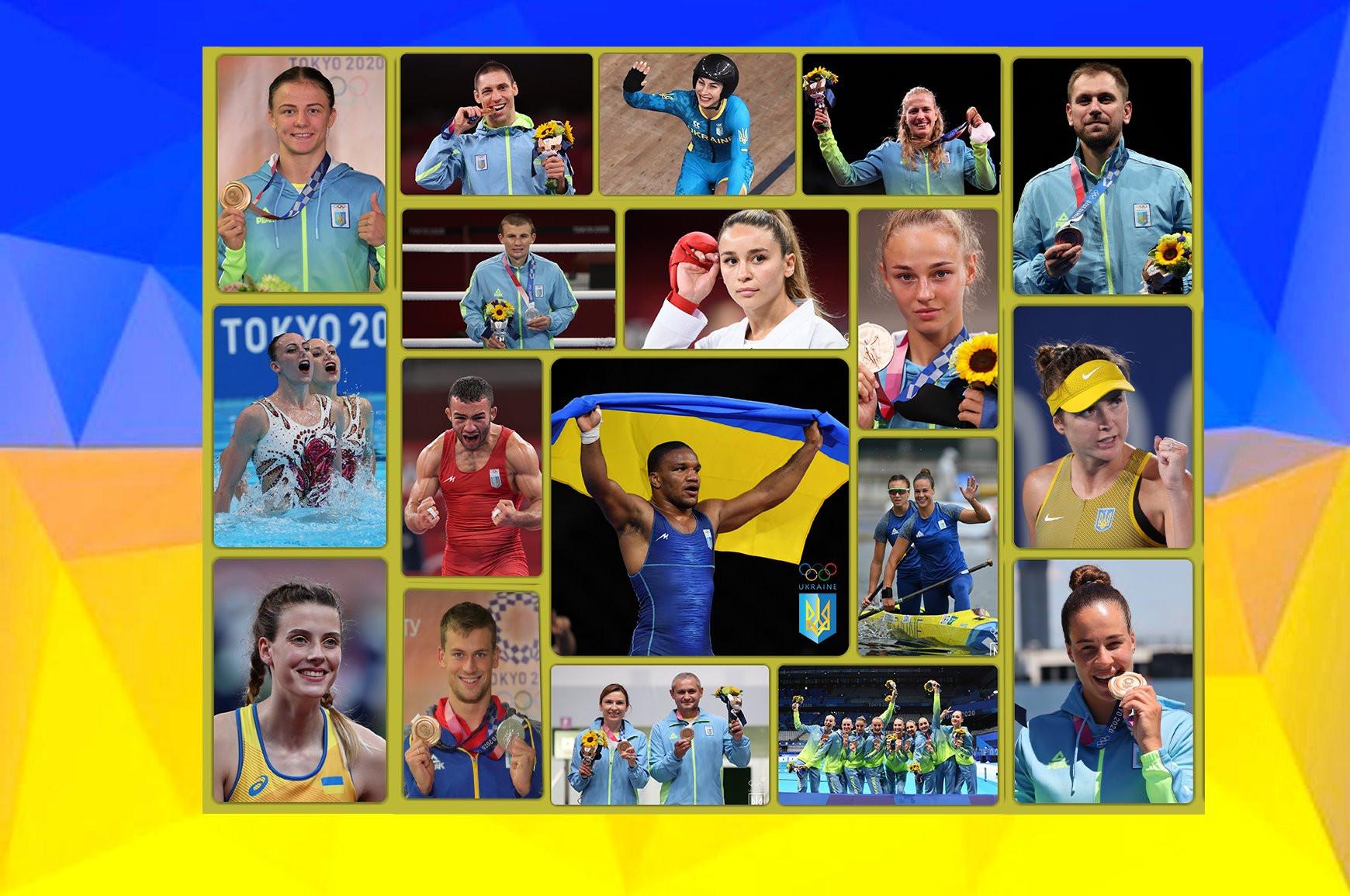 призеры Олимпиады 2020