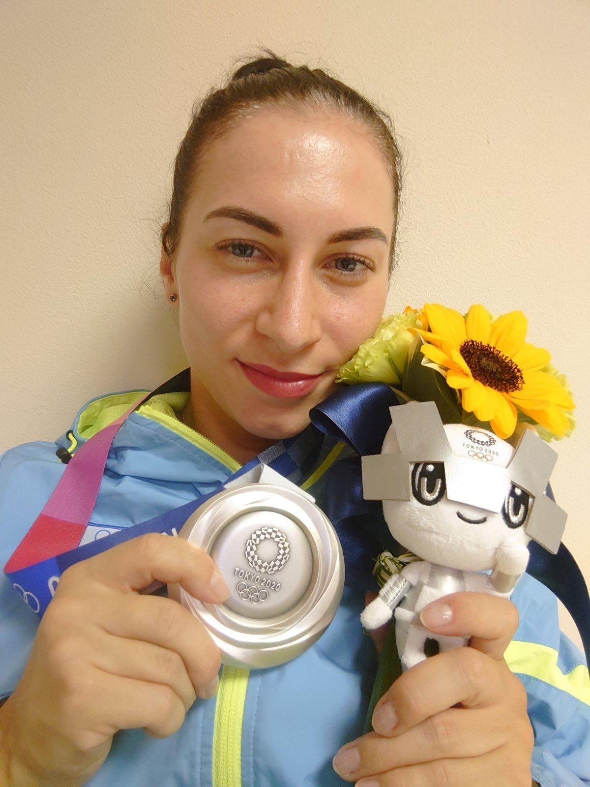 Елена Старикова получила серебрянную медаль