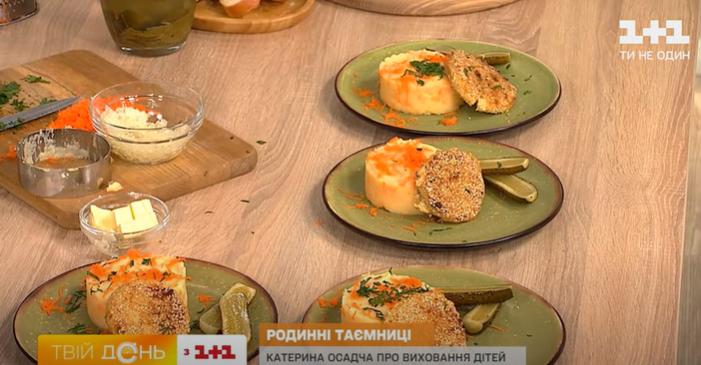 рецепт приготовления котлет из минтая и картофельного пюре с морковью