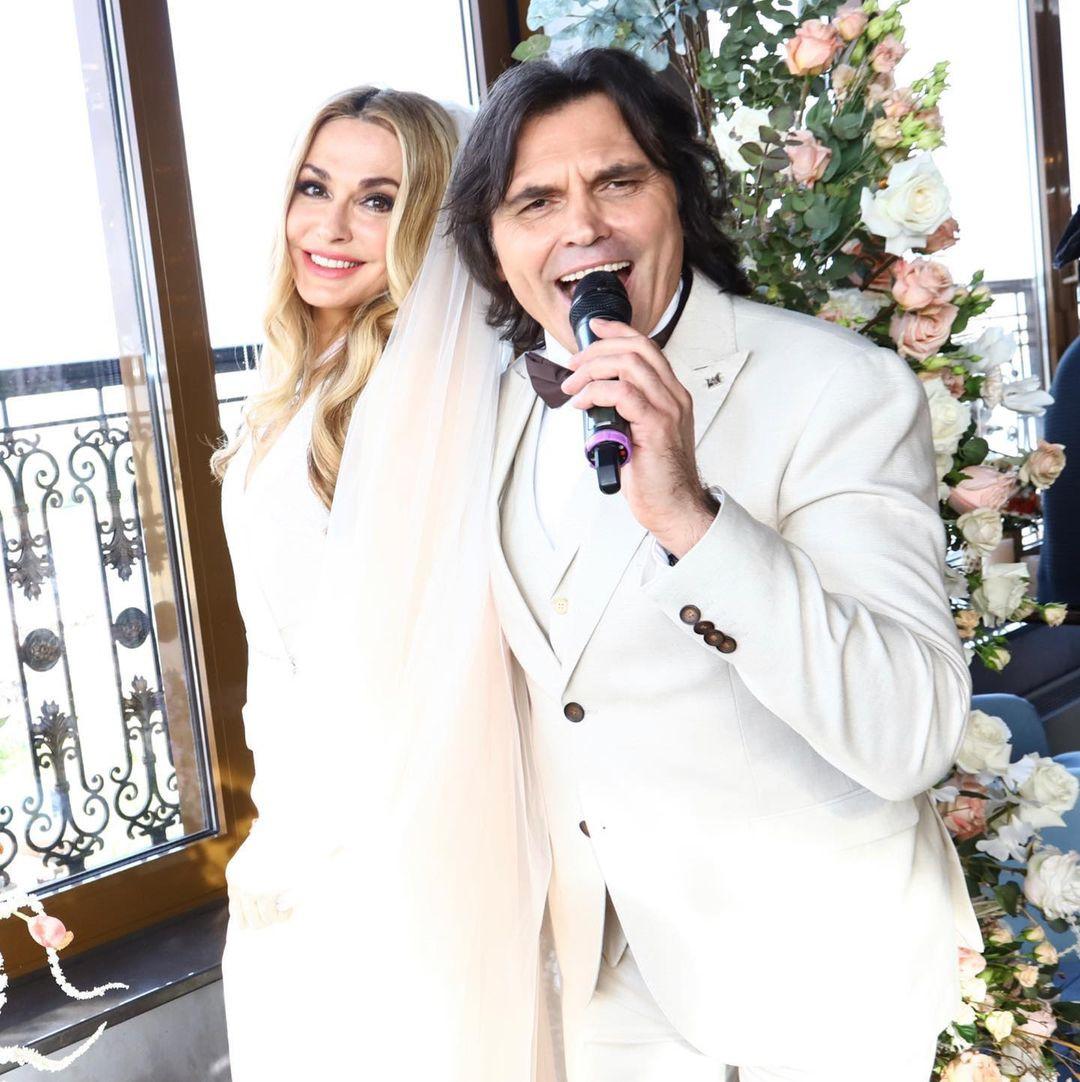 ольга сумская и виталий борисюк отпразновали серебряную свадьбу
