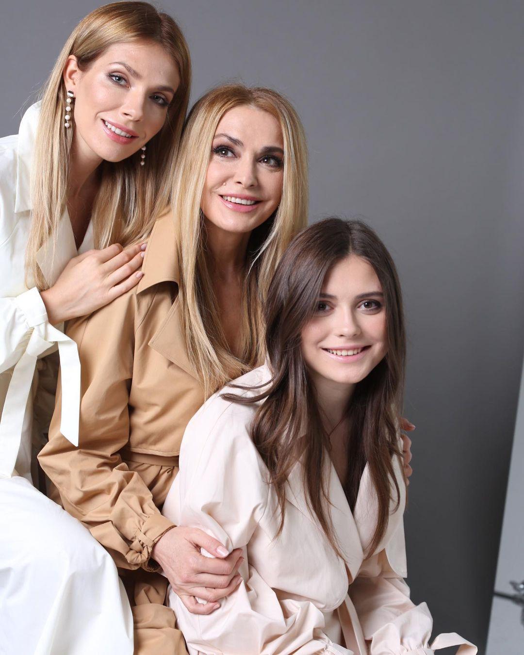 ольга сумская рассказала о своих дочерях