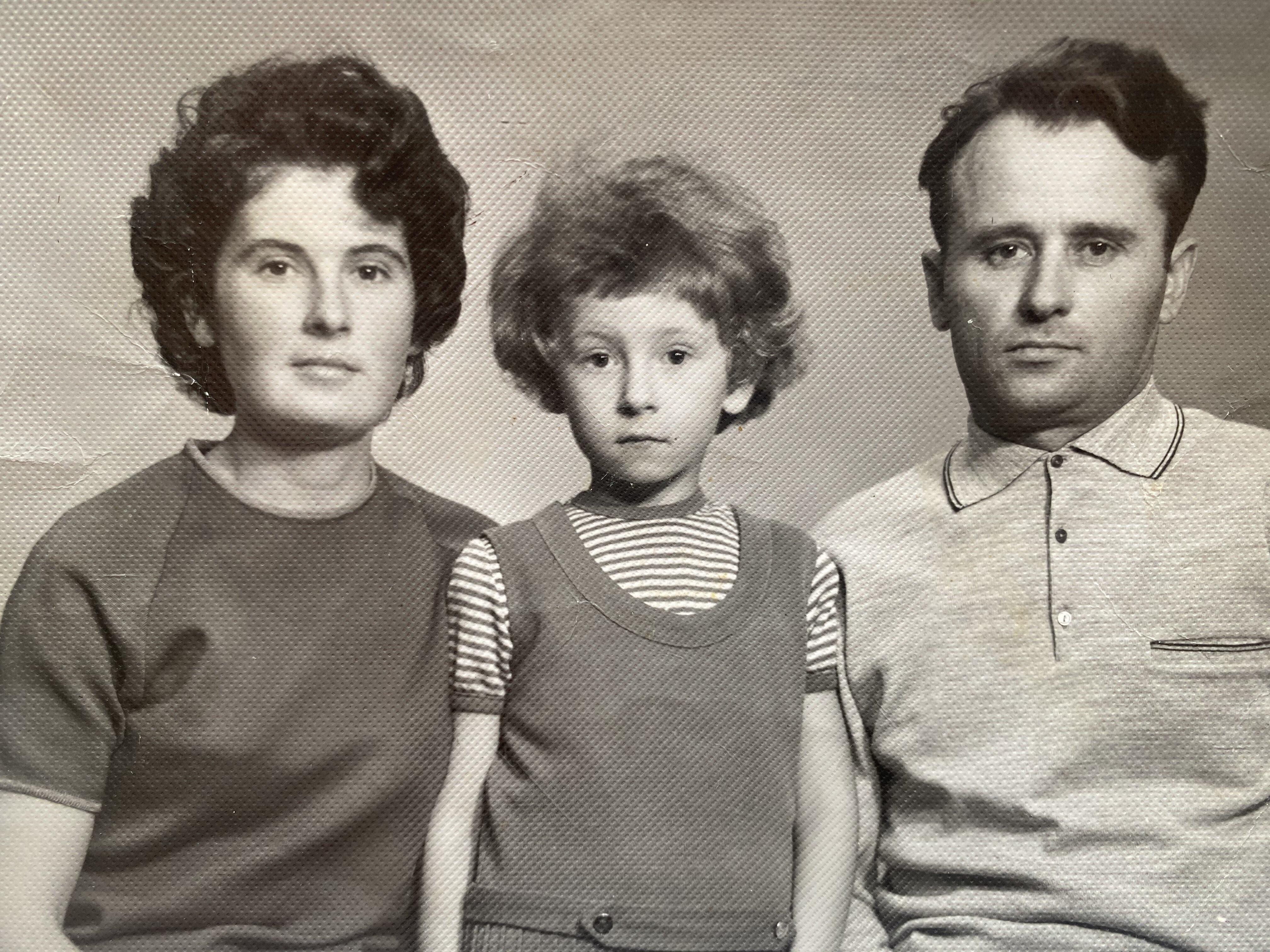 Алла Мазур фото сім'я