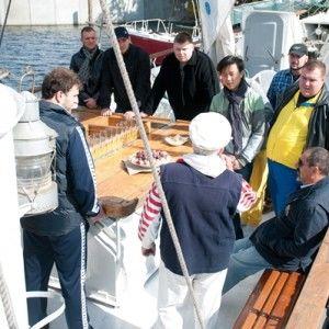 Цього тижня кухарі ловитимуть рибу руками та ходитимуть на яхті