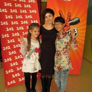 """Наталя Гордієнко познайомилася з учасницями """"Голос. Діти"""""""