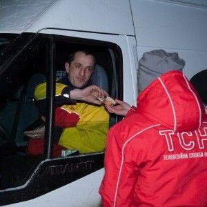 ТСН допомагала киянам посеред снігового колапсу