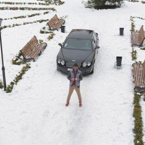 Ігор Посипайко прокатається Німеччиною за кермом найшвидшого купе у світі