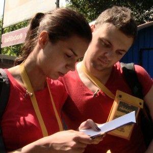 """Запитай в учасників """"Великих перегонів"""" Андрія та Ірини про радість і жахи проекту!"""