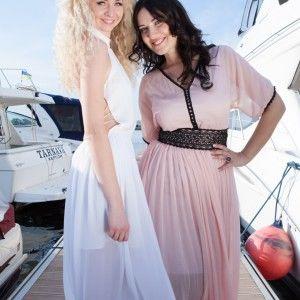 Соломія Вітвіцька керувала модним показом на яхті (ФОТО)