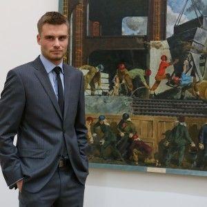 Ведучий ТСН відкрив виставку художників-сімдесятників