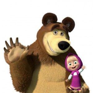 """1+1 покаже нові пригоди """"Маші і Ведмедя""""!"""