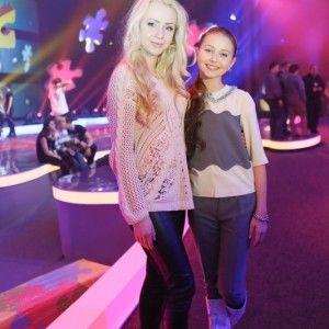 """Анна Ходоровська познайомилася з українською учасницею """"Дитяче Євробачення 2013"""""""