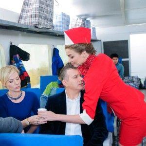 Юрія Горбунова намагалася звабити стюардеса