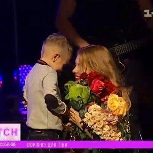 """5-річний син Кароль вийшов на сцену під час її концерту - """"ТСН. Особливе"""""""