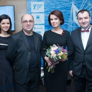 Алла Мазур нагородила переможця премії імені Джозефа Конрада-Коженьовського