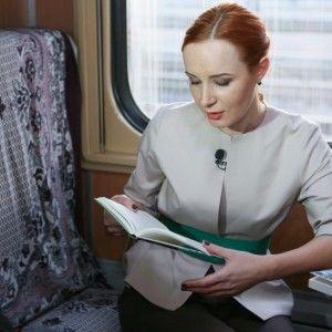 Юлія Бориско оцінила першу бібліотеку у поїзді