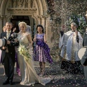 Шерлок-3. 2 серія. Шерлок знаходить вбивцю на весіллі Джона й Мері