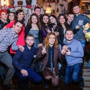 Львівський хор дружно відсвяткував Старий Новий рік і привітав киян щедрівками