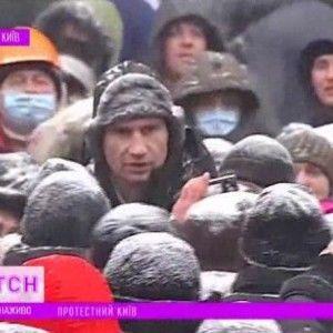 """Кличко на Грушевського поспілкувався з силовиками - """"ТСН. Особливе"""""""
