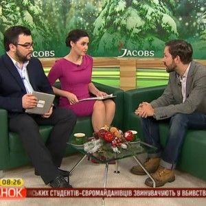 """У """"Сніданку з 1+1"""" російський журналіст розповів про ставлення росіян до Євромайдану"""