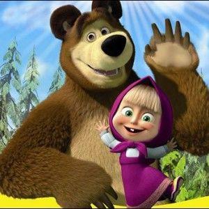 """Дивіться мультфільм """"Маша і Ведмідь"""" відтепер щонеділі на 1+1"""