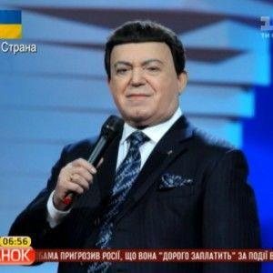 """Кобзон розповів чому """"Океан Ельзи"""" не пускають в Росію, і чому він відмовився виступати на Майдані"""