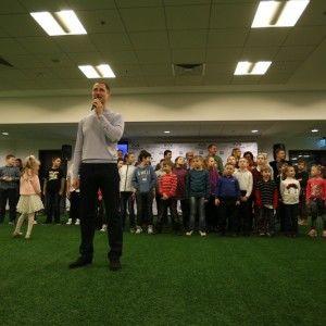 Денис Силантьєв розробив зарядку для школярів та дітей з інтернатів