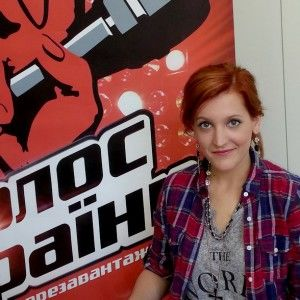 """Учасниця """"Голосу країни"""" Ольга Жмуріна: """"Я ледве не заплакала, коли побачила себе в телевізорі"""""""