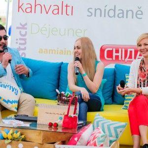 Марина Леончук та Руслан Сенічкін провели вихідні на Святі першої полуниці