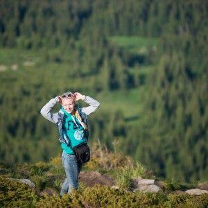 Анна Ходоровська підкорила найвищу гору України