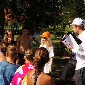 Єгор Гордєєв  розказав молоді на Одещині про загрози торгівлі людьми та безпечну міграцію