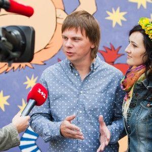 """Зірки """"1+1"""" Вітвіцька, Комаров і Гордєєв завітали на відкриття травмпункту дитячої лікарні"""