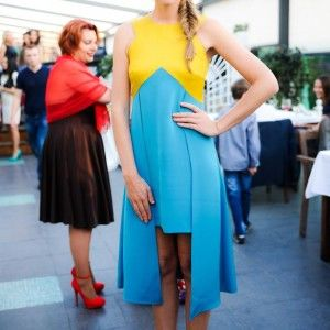 Катю Осадчу нагородили за внесок у розвиток української моди