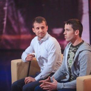 """У """"Хоробрих серцях"""" активіст Майдану зустрівся зі своїм рятівником"""