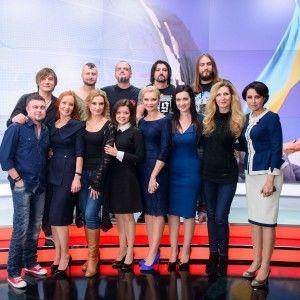Ведучі ТСН зробили музичний подарунок захисникам України до Дня Збройних сил