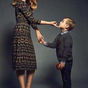 Святкова фотосесія  Тіни Кароль із сином