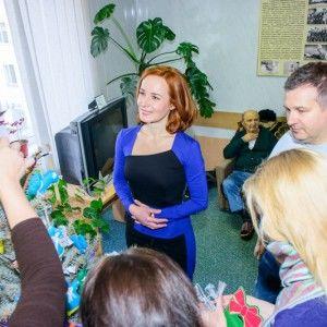 Бориско та Горбунов привітали бійців з Новим роком