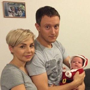 Наталя Гордієнко показала першу новорічну фотосесію маленької доньки