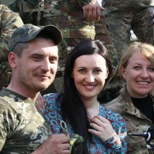 Соломія Вітвіцька привітала бійців АТО з Великоднем