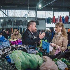 """Ольга Фреймут провела """"інспекцію"""" секонд-хенду з екстрасенсом"""