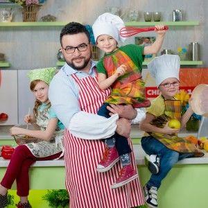 Руслан Сенічкін на Книжковому Арсеналі презентує ідею нової кулінарної книжки