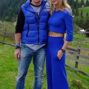 Дмитро Комаров та Ольга Фреймут разом вирушили у подорож