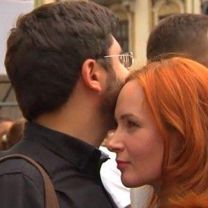 Юлія Бориско показала свого чоловіка