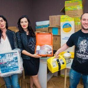 Соломія Вітвіцька розповіла про передання унікального обладнання в українські лікарні